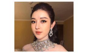Á hậu Huyền My lộng lẫy như 'nữ thần' dự sự kiện ở Myanmar
