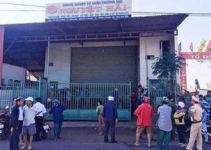 Hàng trăm người dân bao vây doanh nghiệp khi nghe thông tin vỡ nợ