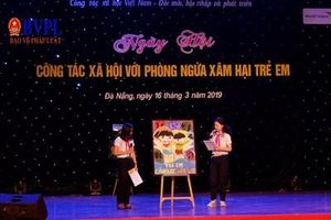 800 học sinh Đà Nẵng tham gia ngày hội phòng ngừa xâm hại trẻ em