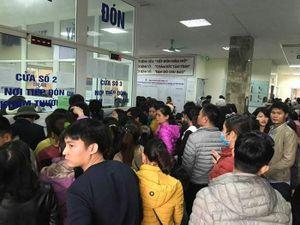 Hàng nghìn gia đình ở Bắc Ninh ồ ạt đưa trẻ về HN xét nghiệm sán lợn