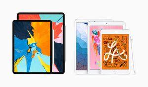 Apple ra mắt iPad Air mới: Chip A12 Bionic, màn 10,5 inch, giá từ 499 USD