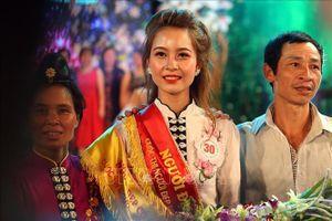 Thiếu nữ dân tộc Thái đăng quang cuộc thi Người đẹp Hoa Ban 2019