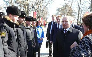Tổng thống Putin thăm Crimea sau 5 năm sáp nhập vào Nga
