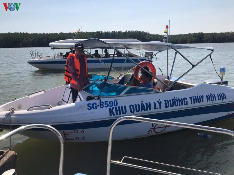 Chìm tàu nạo vét trên sông Gò Gia, thuyền trưởng còn mất tích