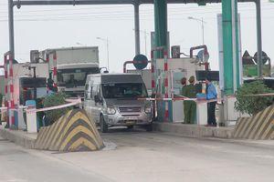 Hình ảnh BOT Mỹ Lộc trong ngày thu phí trở lại