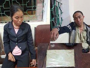 Bắt 2 đối tượng người Lào vận chuyển 1 bánh heroin