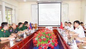Học viện Hải quân: Tiếp đoàn Tùy viên Quốc phòng Campuchia