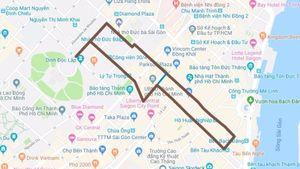 TP.HCM cấm xe trên đường Lê Duẩn 2 ngày làm lễ 'Ngày chạy Olympic'
