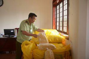 Hơn 1.100 kg ruốc thịt gà không có hóa đơn suýt ra thị trường