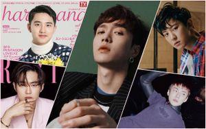 Thói quen ngủ của Sehun sẽ khiến bạn bất ngờ - Các thành viên EXO 'bao thầu' toàn bộ trang bìa tạp chí tháng Ba
