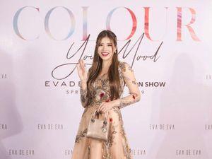 HH Phan Hoàng Thu cuốn hút với gu thời trang bánh bèo tại Color Your Mood