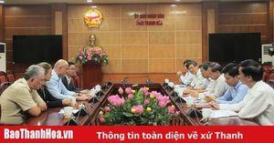 Phó chủ tịch Thường trực UBND tỉnh Nguyễn Đức Quyền làm việc với Hiệp hội nước Hungary
