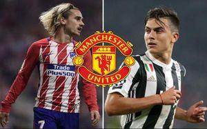 Chuyển nhượng bóng đá mới nhất: MU chọn Griezmann hay Dybala