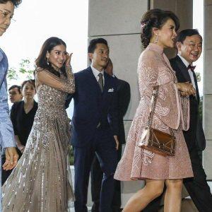 Công chúa Thái Lan đến dự đám cưới con gái cựu Thủ tướng Thaksin Shinawatra