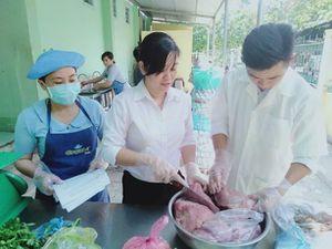 Đảm bảo vệ sinh an toàn thực phẩm ở một trường học Đồng Tháp