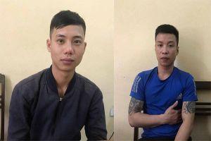 Nhóm thanh niên Thanh Hóa 'đấu kiếm' gặp ngay cảnh sát cơ động