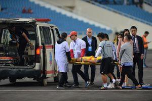 Cầu thủ U23 Brunei nhập viện khẩn cấp do chấn thương nặng