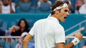 Miami Open: Lội ngược dòng, Federer 'giải trừ' kết quả gây sốc