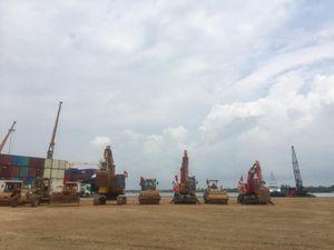 Khởi công cảng đón tàu 50.000 tấn tại Cảng THACO - Chu Lai