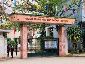 Quảng Ninh: 500 học sinh nghỉ học bất thường trong một ngày