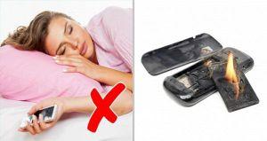 6 vị trí tuyệt đối không nên để điện thoại nếu muốn sống khỏe