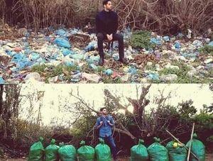 'Thử thách dọn rác' - hành động đẹp vì môi trường