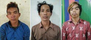 3 nghi can người nước ngoài sang Việt Nam cướp giật