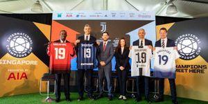 MU, Juventus, Inter, Spur hội tụ về Singapore