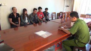 Kéo băng nhóm về quê bạn gái trộm xe, 5 đạo chích bị bắt giữ