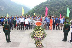 Tuổi trẻ 17 cơ quan báo Đảng tham gia 'Hành trình về nguồn' tại tỉnh Cao Bằng