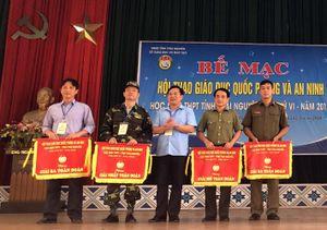 Hội thao Giáo dục Quốc phòng và An ninh tỉnh Thái Nguyên lần thứ VI