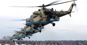 Nga bắt đầu huấn luyện Venezuela sử dụng trực thăng tấn công