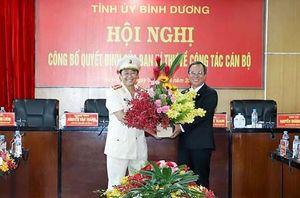 Đại tá Nguyễn Hoàng Thao nhận quyết định chuẩn y Phó Bí thư Tỉnh ủy Bình Dương