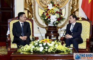 Thứ trưởng Lê Hoài Trung tiếp Phó Tỉnh trưởng thường trực tỉnh Vân Nam
