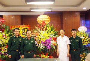 Bộ Tư lệnh BĐBP chúc mừng Ngày Truyền thống Bệnh viện Trung ương Quân đội 108