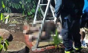 Phát hiện thi thể người đàn ông dưới giếng