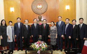 Tiếp đoàn đại biểu Quỹ Tống Khánh Linh sang thăm Việt Nam