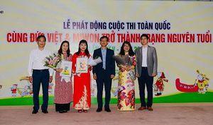 Phát động cuộc thi 'Cùng Đức Việt & Miwon trở thành Trạng nguyên tuổi 13' lần thứ V