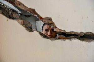 80 căn nhà sụt lún, nứt vỡ gây hoang mang cho hàng nghìn người