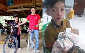 Chiếc xe đạp không phanh của cậu bé vượt hơn 100km từ Sơn La xuống Hà Nội thăm em được trả giá 103 triệu đồng