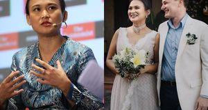 Vợ mới cưới của chồng cũ Hồng Nhung có lý lịch và gia thế 'khủng' thế nào?