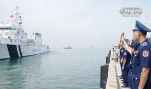 Thủy thủ Tàu ICGS VIJIT tạm biệt Đà Nẵng