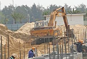 Khu biệt thự xây dựng trái phép ở Quảng Nam bất chấp lệnh dừng thi công