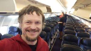 Người đàn ông sốc vì là hành khách duy nhất trên chiếc Boeing-737 tới Ý