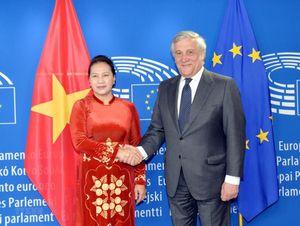 Các hoạt động của Chủ tịch Quốc hội Nguyễn Thị Kim Ngân tại Bỉ