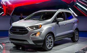 Mẫu SUV Ford EcoSport đang giảm giá 40 triệu đồng
