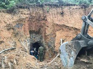 Sạt lở mỏ quặng, 1 phụ nữ tử vong