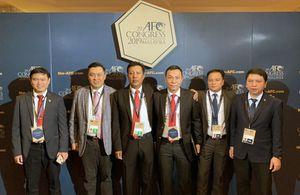 Đại diện Việt Nam tái cử Ban thường vụ AFC