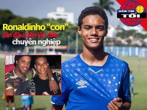 Con trai Ronaldinho ra mắt, Pique tiết lộ về thẻ đỏ của Costa