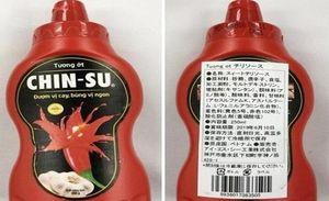 Masan phản hồi về vụ tương ớt Chinsu bị thu hồi ở Nhật